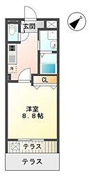 埼玉県さいたま市緑区美園3の賃貸マンションの間取り