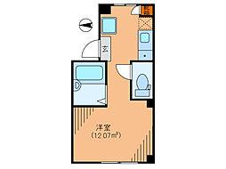 シックス新宿[1階]の間取り