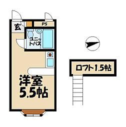 ベルピア・鎌倉岩瀬1-2[2階]の間取り