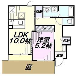 JR五日市線 武蔵増戸駅 徒歩4分の賃貸アパート
