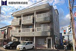 愛知県豊橋市花田町字小松の賃貸アパートの外観