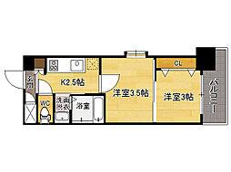 ORIENTBLD No.111 TRADING TOWER[3階]の間取り