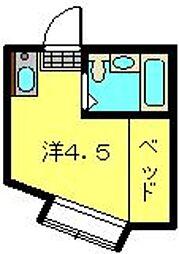 ガーデンハイムII[107号室]の間取り