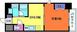 クオリス神戸本山レジデンス[7階]の間取り