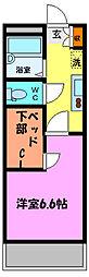 TAKA[3階]の間取り