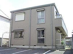 千葉県松戸市常盤平柳町の賃貸アパートの外観