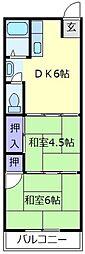 R-6伊賀サンハイツ[2階]の間取り