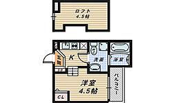 Pleasure SAKAI[1階]の間取り