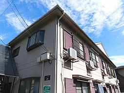 東京都中野区上鷺宮3丁目の賃貸アパートの外観