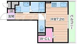 メゾン・ド・ワギィ[3階]の間取り