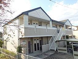 埼玉県入間市黒須2丁目の賃貸アパートの外観