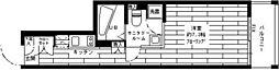 東京都目黒区中根2丁目の賃貸マンションの間取り