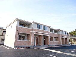 栃木県鹿沼市西鹿沼町の賃貸アパートの外観