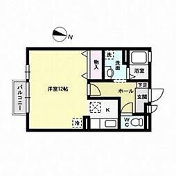 セジュールサンシャインIII[2階]の間取り