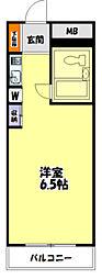 東京都八王子市子安町1丁目の賃貸マンションの間取り