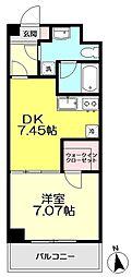 コンフォート関町II[106号室]の間取り画像