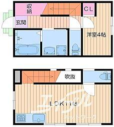 [一戸建] 大阪府大阪市中央区谷町6丁目 の賃貸【/】の間取り