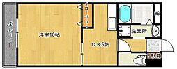 スターリーKT[2階]の間取り