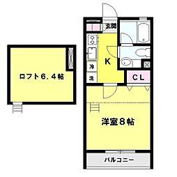 ユーラル昴苑[1階]の間取り