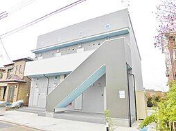 神奈川県大和市中央林間西2丁目の賃貸アパートの外観