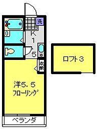 フォレストスクエア横浜WEST[101号室]の間取り