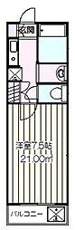 小幡マンション[301号室]の間取り