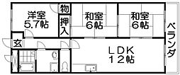 オーハウズ30[4階]の間取り