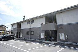 長野県茅野市本町西の賃貸アパートの外観