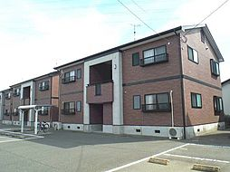 福岡県久留米市安武町安武本の賃貸アパートの外観