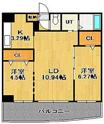 AMS KAIHOUROU(AMS海宝楼)[1階]の間取り