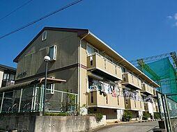 大阪府豊中市上野東2丁目の賃貸アパートの外観