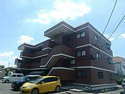 栃木県小山市大字横倉新田の賃貸マンションの外観