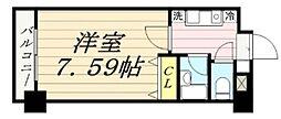 サンコート中島[206号室]の間取り
