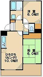 ファミリーカーサ[1階]の間取り