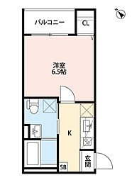 Sweet Doors神戸[3階]の間取り