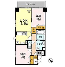 オーチャードK[2階]の間取り