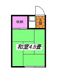 大山荘[2階]の間取り