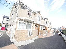 神奈川県厚木市上依知の賃貸アパートの外観