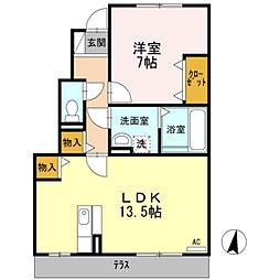 D−room大泉東町[103号室]の間取り