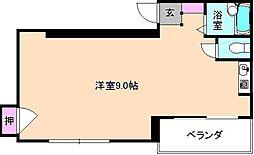 大阪府寝屋川市香里北之町の賃貸マンションの間取り