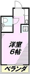 菱光マンション[205号室]の間取り