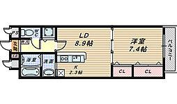 キラリ8-1[10階]の間取り