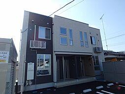 栃木県栃木市柳橋町の賃貸アパートの外観