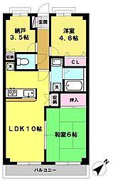 Excel OIZUMI〜エクセル大泉〜[205号室]の間取り