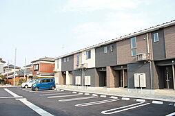 新潟県新発田市城北町1丁目の賃貸アパートの外観