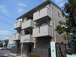 埼玉県草加市弁天4の賃貸アパートの外観