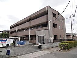埼玉県草加市青柳8の賃貸アパートの外観