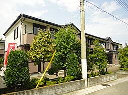 栃木県栃木市新井町の賃貸アパートの外観