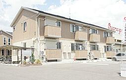 栃木県小山市犬塚7丁目の賃貸アパートの外観