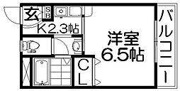 アーバンコート香里園[2階]の間取り